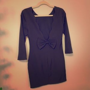 Tea & Cup Dress Size M Black